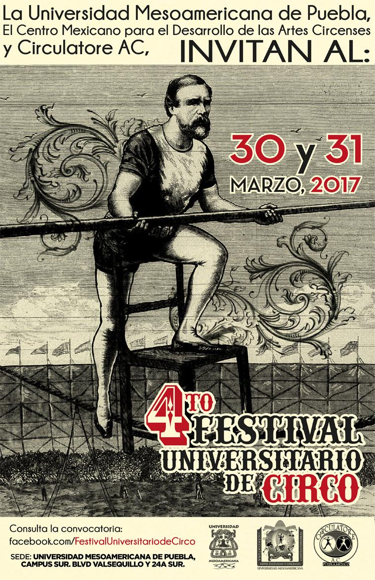 CUARTO FESTIVAL UNIVERSITARIO DE CIRCO